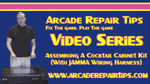 Cocktail Arcade Cabinet Kit Arcade Repair Tips Assembling A Cocktail Cabinet Kit With Jamma