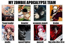 Zombie Team Meme - my zombie apocalypse team meme by rubenimus21 on deviantart