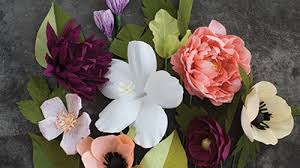 Paper Flowers Video - basic crepe paper flowers archives lia griffith