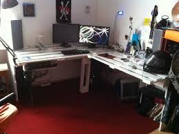 Ecktisch Schreibtisch Palettenmöbel Iii Schreibtisch Selbst Bauen Palettenbett Und