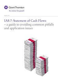 objectives of cash flow statement ias 7 statement of cash flows