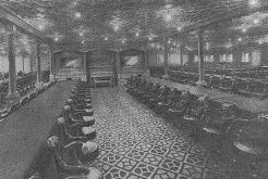 Titanic First Class Dining Room Inside Rms Titanic Interior And Accommodation