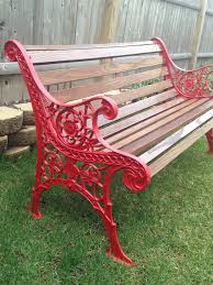iron park benches 8 best garden bench color ideas images on pinterest garden