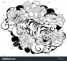 best 25 japanese tiger ideas on japanese tiger cherry blossom tiger