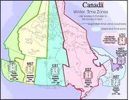 time zone layout cing canada cgrounds canadian winter time zones