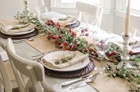 classic thanksgiving place setting
