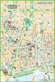Cordoba Spain Map by Barcelona City Center Map