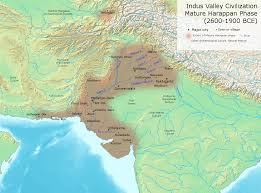 India River Map by Indus River Valley Civilizations Article Khan Academy