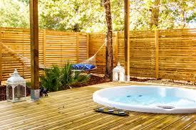 chambre d hote couleur bois et spa l haute en couleur cabanes spas audenge gironde aquitaine