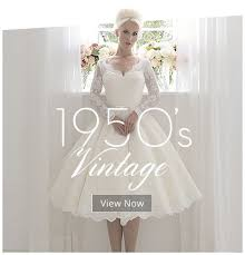 short wedding dress specialists uk tea length vintage 1950s u0026 60s