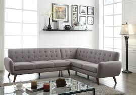 Mid Century Modern Sectional Sofa Acme Furniture Essick Sectional Sofa 52765 Savvy Discount Furniture