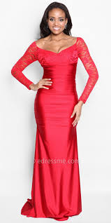 jovani red lace prom dress dresses trend