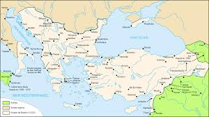 East Empire Shipping Map Byzantine Empire Familypedia Fandom Powered By Wikia