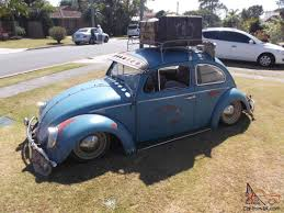 vw thing slammed bagged patina 1963 vw beetle show off car slammed cool patina