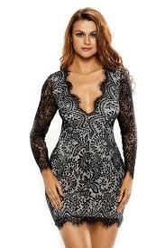 womens black lace mini dress wholesale