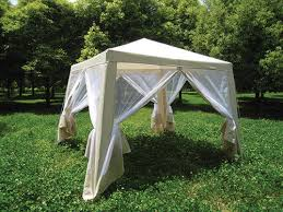 gazebo 8x8 guidesman皰 8 x 8 gazebo with mosquito net at menards皰
