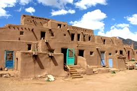 Pueblo Adobe Houses by Taos Pueblo Over 1 000 Years Of Tradition