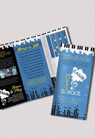 music brochure music powerpoint presentation template