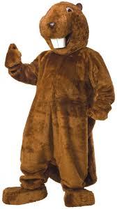 brown costume buy beaver mascot costume set online beaver mascot