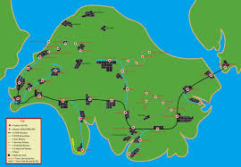 Scc Map Rws Isle Of Sodor Map Circa 1997 By Theausterityengine On Deviantart