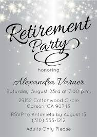 retirement invitations party invitation cards retirement party invitations