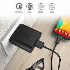 diy phone charger aukey pa t9 usb wall charger with quick charge 3 0 24x7 diy