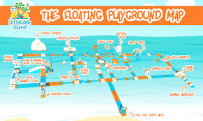 World War 2 Map Activity by Inflatable Island Asia U0027s Biggest Floating Playground Opens In Ph