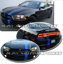 2014 dodge charger mopar 2011 2014 charger mopar style racing stripes