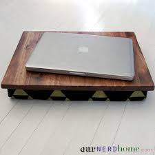 Diy Lap Desk Diy Lap Desk With Hand Stamped Legend Of Zelda Fabric Diy Gift