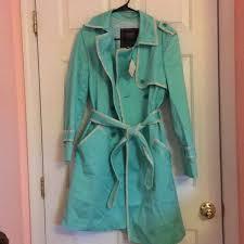 light blue trench coat coach jackets blazers light blue trench coat poshmark