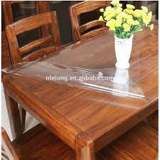 plastic transparent table cover plastic transparent table cover