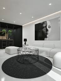 Living Room Ideas Modern Black And White Interior Design Ideas Modern Apartment By Id