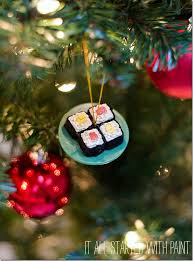 sushi ornaments 11 and ornaments