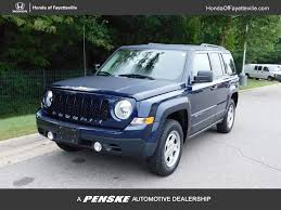 2016 used jeep patriot 4wd 4dr sport at toyota of fayetteville