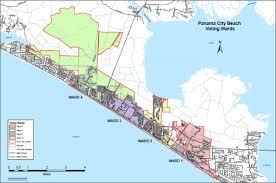 map of panama city city council city of panama city fl