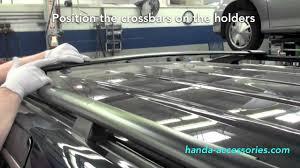 honda crv roof rack installation odyssey crossbars installation honda answers 33