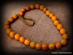 etsy beads necklace images Melon beads necklace earthy orange konyak naga vintage glass etsy jpg
