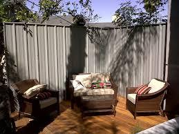 backyard privacy screen contemporary patio los angeles by