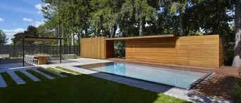 City Backyard King City Backyard Balances Modernism With Cottage Country Warmth