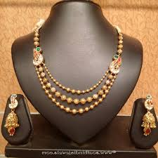gold antique necklace set images Light weight gold antique necklace set caymancode jpg