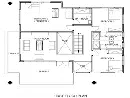 house plans designs simple floor open plan for houses with large