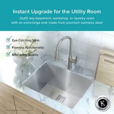 Sinks For Laundry Room by Stainless Steel Kitchen Sinks Kraususa Com