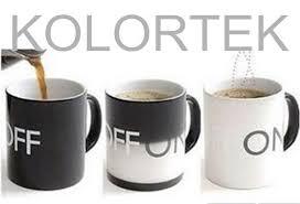 temperature sensitive color changing paint pigment color changing