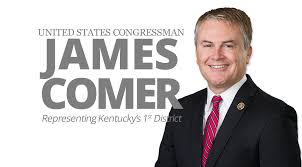 An Eye For An Eye Leaves The World Blind Congressman James Comer Representing The 1st District Of Kentucky