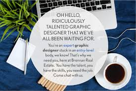 Best Resume Font For Designers by Calling All Talented Graphic Designers Brennan Real Estate