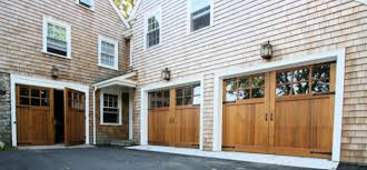 blog fauxwood ranch house doors sconset swing out carriage house garage doors