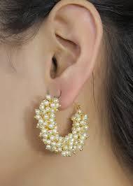 stylish earrings buy cairo traditional pearl jewellery stylish fancy party wear