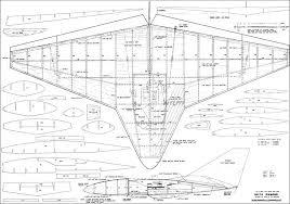 free rc plans delta diamond rc plans aerofred download free model airplane plans