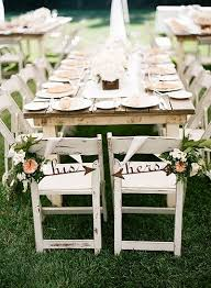 Bride And Groom Chair The 25 Best Wedding Chair Signs Ideas On Pinterest Country