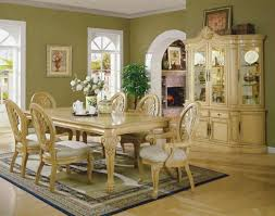 white formal dining table room antique setture setting ideas set